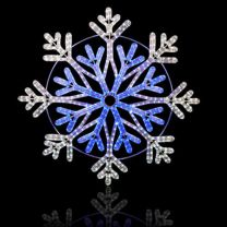 """48"""" Frost Snowflake"""