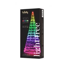 19.5' Twinkly Light Tree RGBW, 5MM, 1000L, Pole NOT Included, Wifi