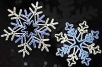 Commercial Grade LED Snowflakes