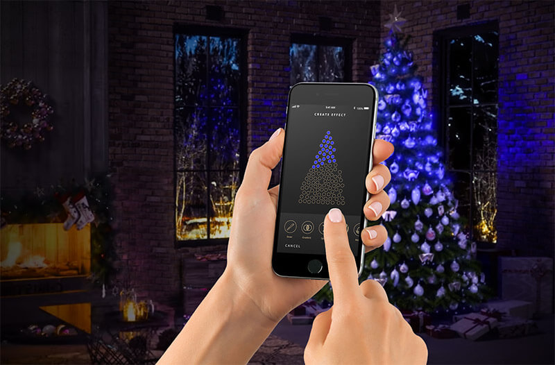 Introducing Twinkly Pro RGB Christmas Lights